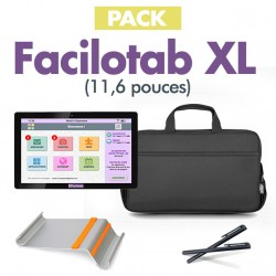 Pack Facilotab XL + Support + Sacoche + Stylet