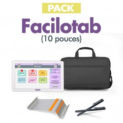 VX : Pack Facilotab 32 Go + Support + Sacoche + Stylets