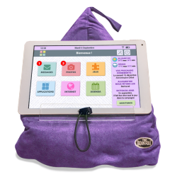 Support coussin pour tablette