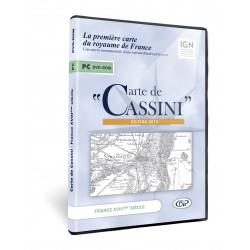 Carte de Cassini, logiciel de cartographie