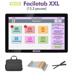 Pack Facilotab XXL + Support + Sacoche + Stylet