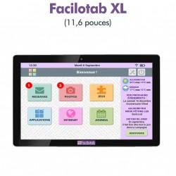Tablette Facilotab XL 11,6 pouces WiFi - 16 Go - Android 7 (Interface simplifiée pour Seniors)