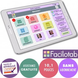Tablette Facilotab L Galaxy WiFi