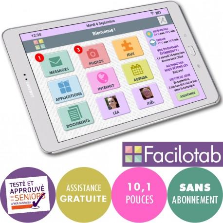 Tablette Facilotab L Galaxy WiFi/4G
