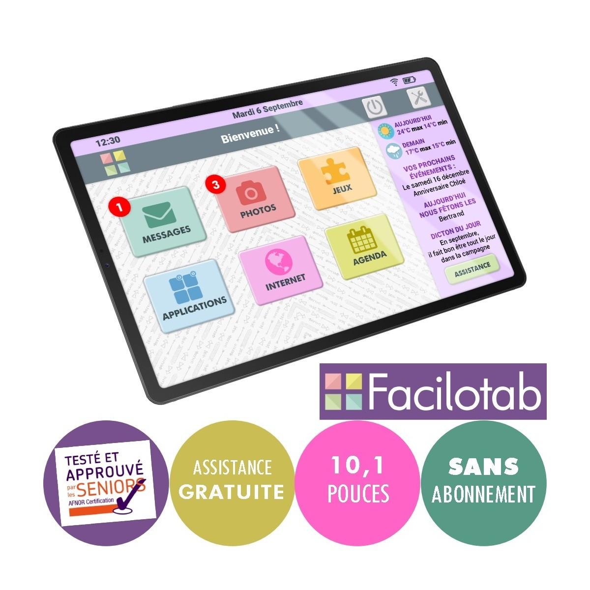 Tablette Facilotab 4G Galaxy Samsung