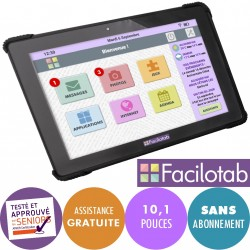Tablette senior Facilotab L Onyx WiFi/4G