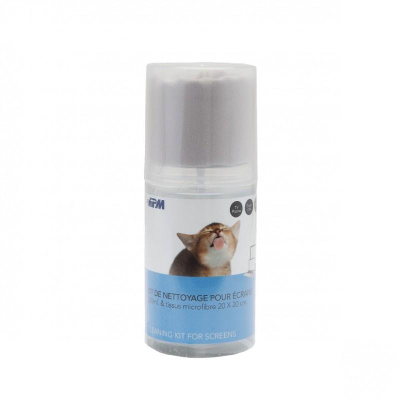Spray nettoyant antistatique