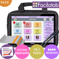 Pack Facilotab L Rubis with...