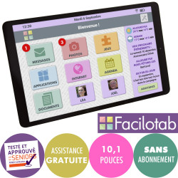 Tablette Facilotab L Galaxy...