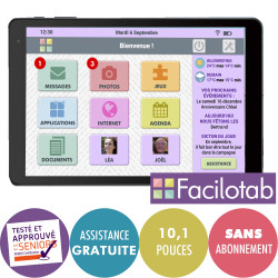 Tablette Facilotab L - WiFi...