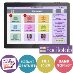 Tablette Facilotab L Rubis...