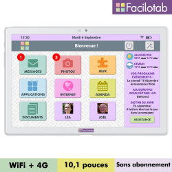 Tablette Facilotab L 10,1...