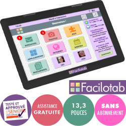 Facilotab XXL - WiFi - 16...