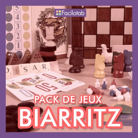 """Pack de jeux """"Biarritz"""""""