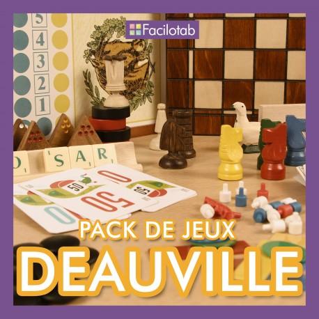 """Pack de jeux """"Deauville"""""""