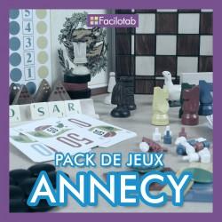"""Pack de jeux """"Annecy"""""""