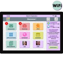 Facilotab L Rubis - WiFi -...