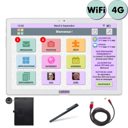 Pack Facilotab L+ - WiFi/4G...