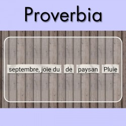 Proverbia, reconstituer le proverbe