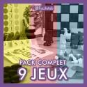 Pack de 9 jeux Facilotab