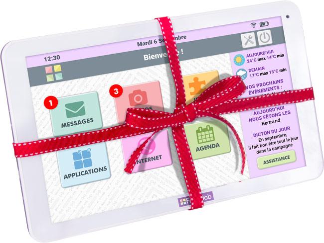 Une tablette Facilotab pour Noël